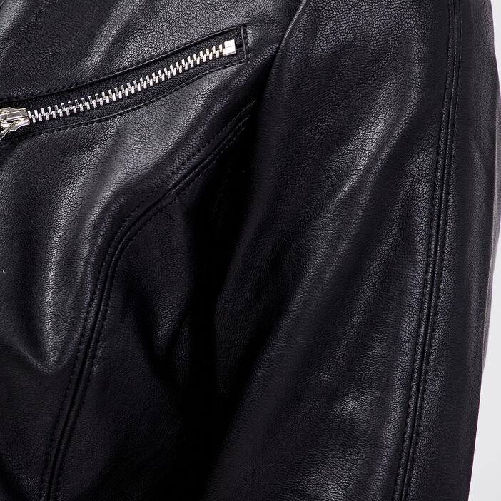 Veste cintrée à détails zippés noir femme