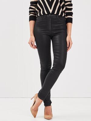 Pantalon pres du corps noir femme