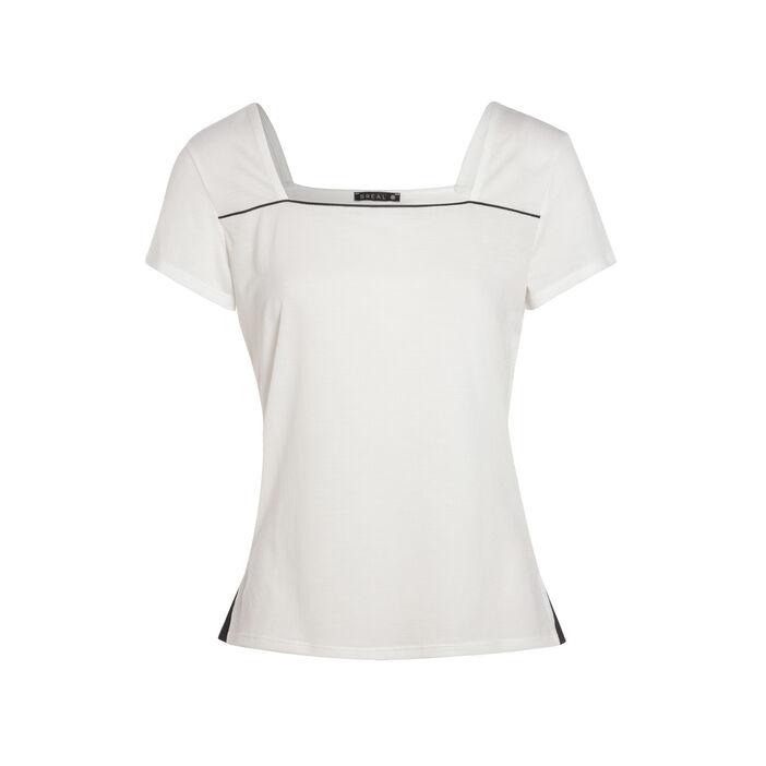 T-shirt ecru femme