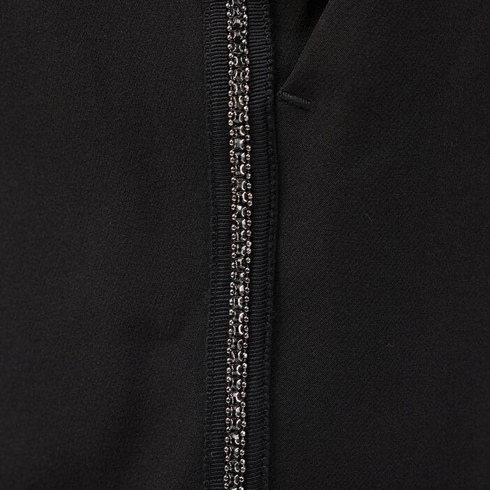 Pantalon flou taille standard noir femme