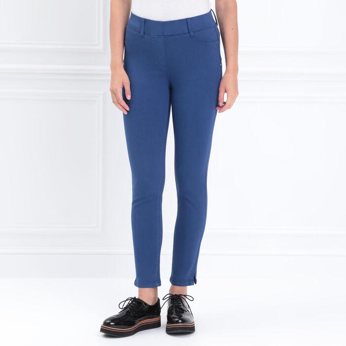 Tregging taille standard bleu roi femme
