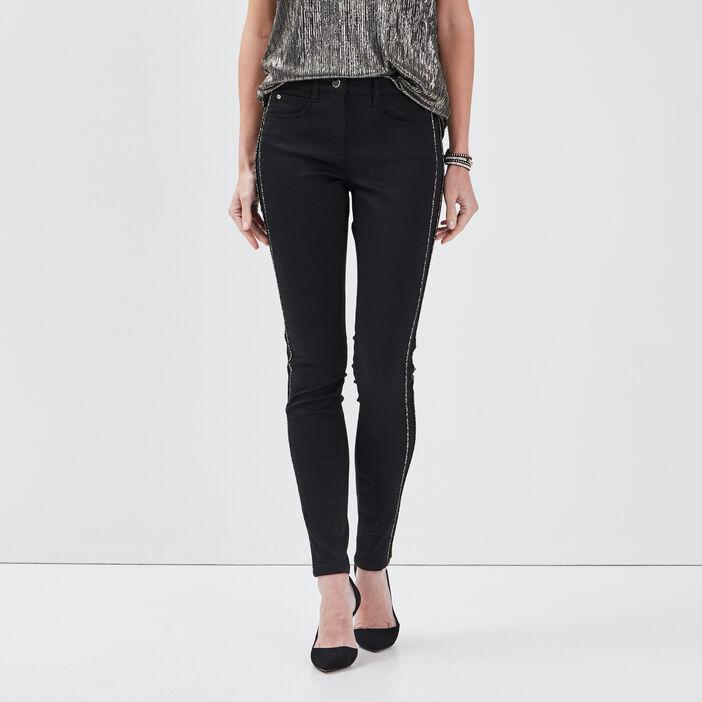 Pantalon noir femme
