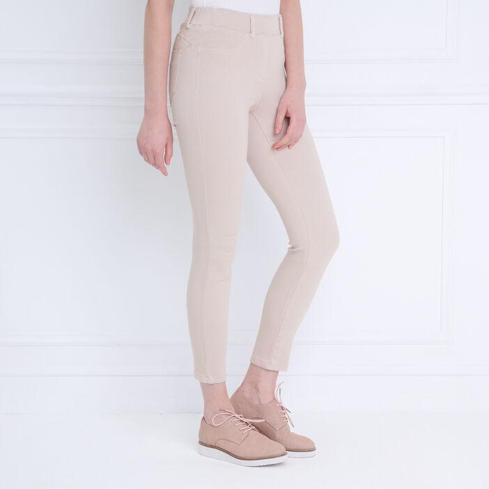 Tregging ultra confort beige femme