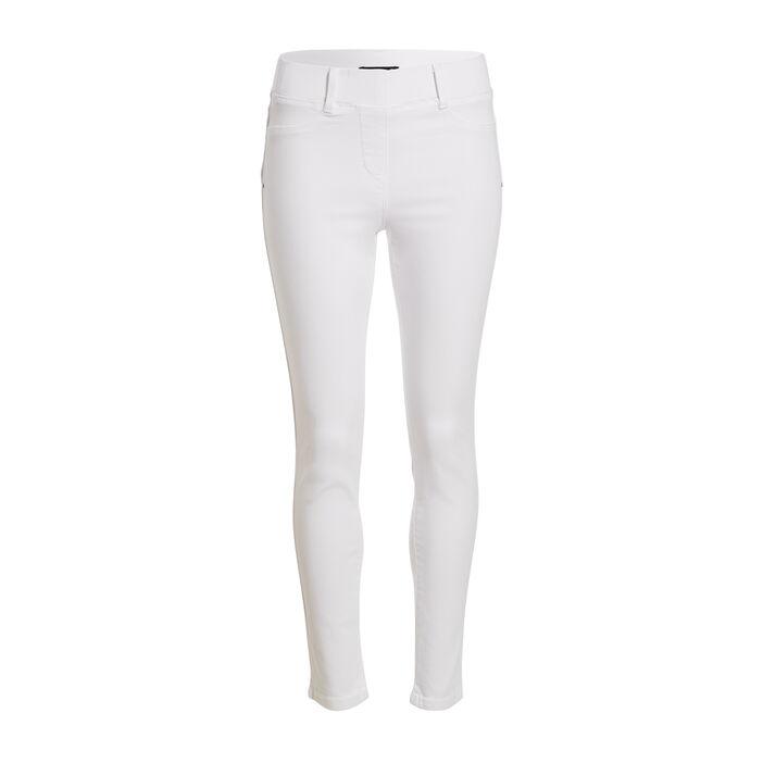 Tregging taille standard blanc femme