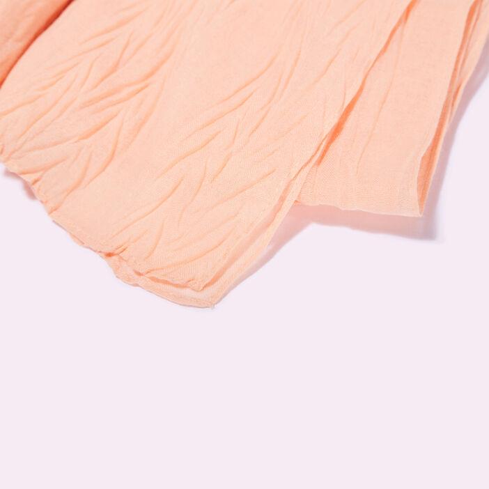 Foulard rose clair femme