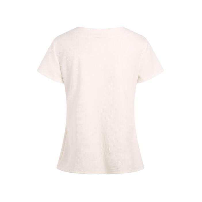 T-shirt manche courte ecru femme