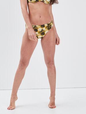 Bas de maillot de bain noir femme