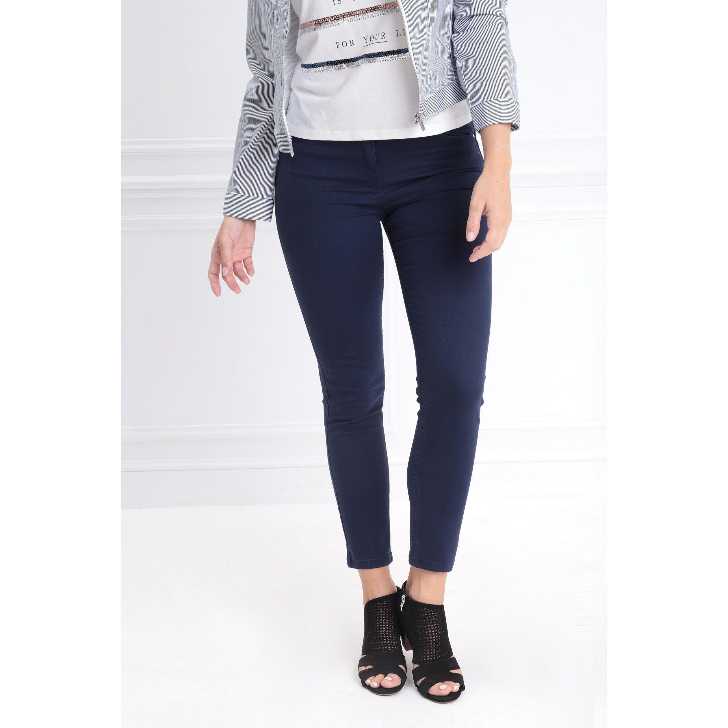 FemmeBréal Bleu Marine Standard Taille Pantalon 78 iuPkXZ