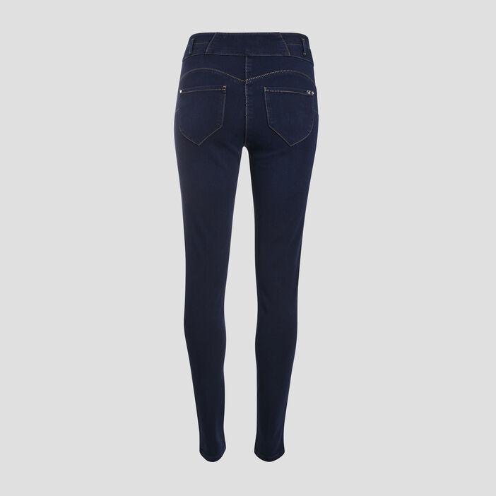 Jeans denim taille haute denim stone femme
