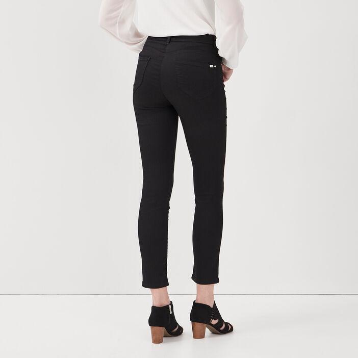 Pantalon léger toucher doux noir femme