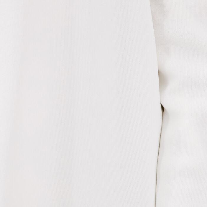 Cardigan manches longues ecru femme