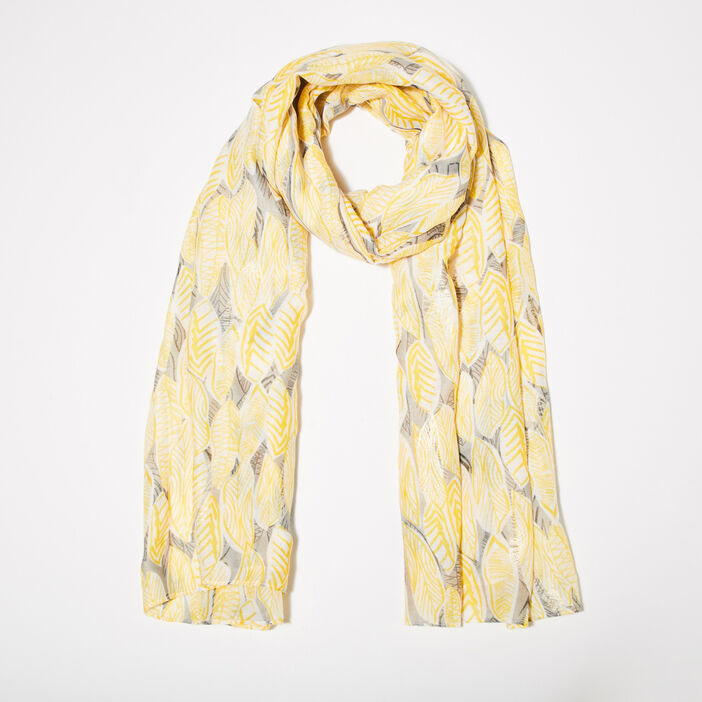 Foulard jaune femme