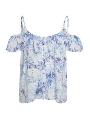 T shirt bleu femme