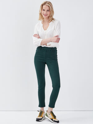 Tregging taille standard vert fonce femme