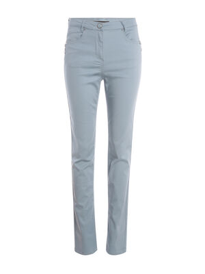 Pantalon taille standard vert fonce femme