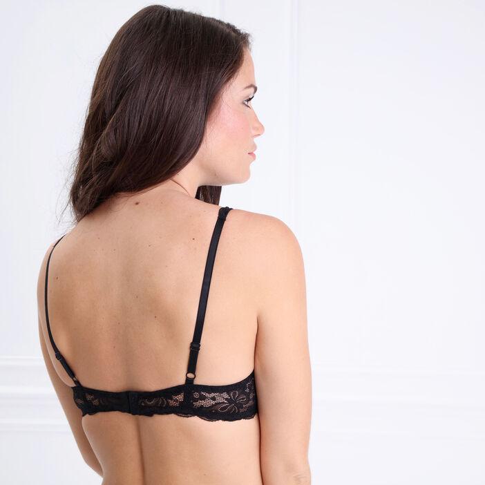 Soutien-gorge ampliforme noir femme
