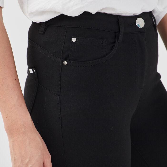 Pantalon Pesublime bi-stretch noir femme