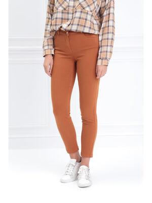Pantalon 78 taille standard marron femme