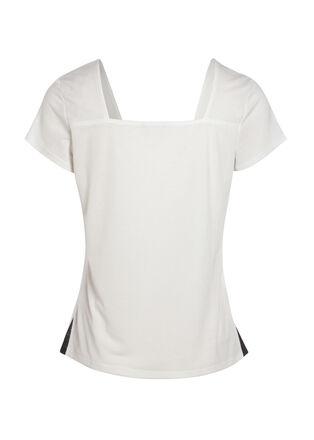 T shirt ecru femme
