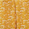 Blouse bretelles larges jaune fonce femme