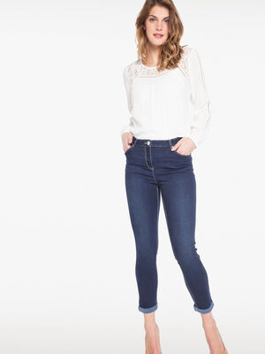 Jean push up denim brut femme