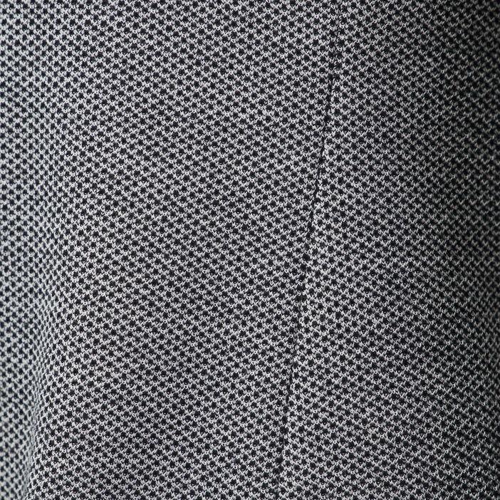 Veste city ajustée col cranté noir femme