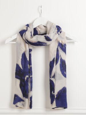Etole imprime bleu fonce femme