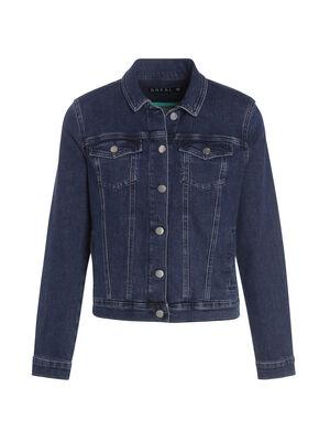 Veste en jean courte denim stone femme