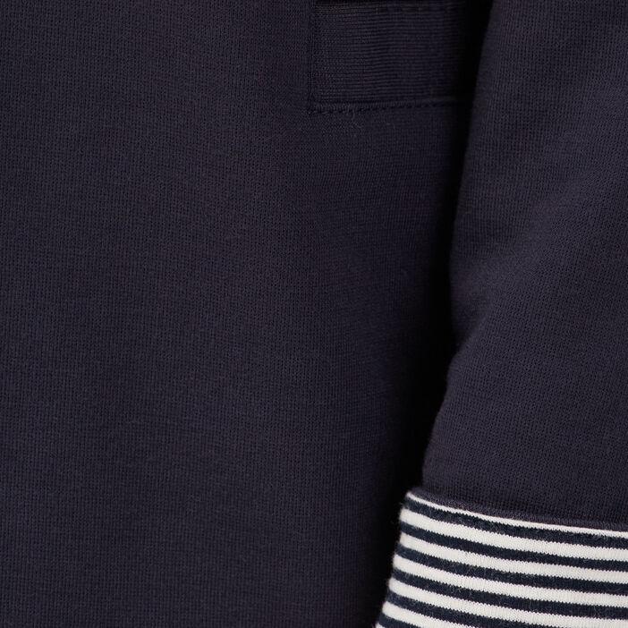 Veste de tailleur droite bleu foncé femme