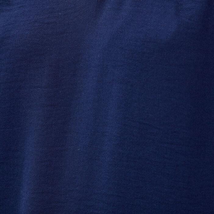 Blouse sans manches bleu marine femme