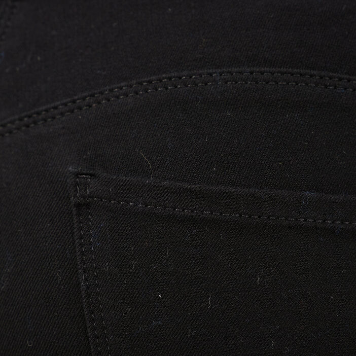 Pantalon galbant et confortable noir femme