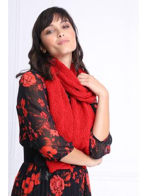 charpe rouge femme