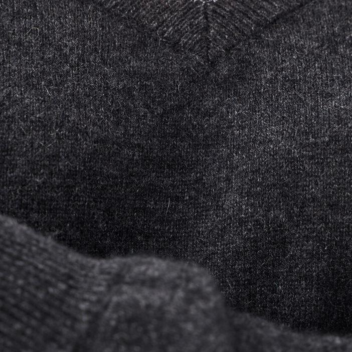 Pull en cachemire gris foncé femme