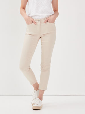Pantalon ajuste sable femme