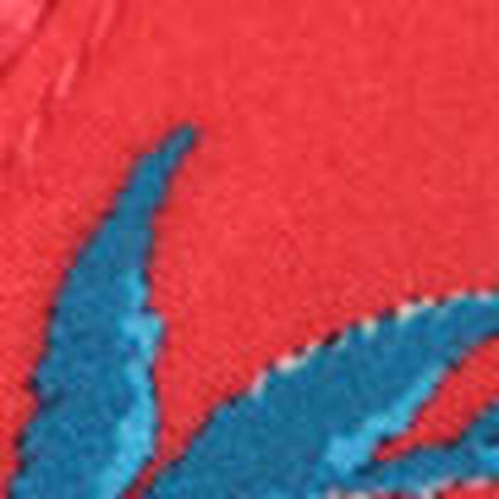 Blouse manches longues rouge femme