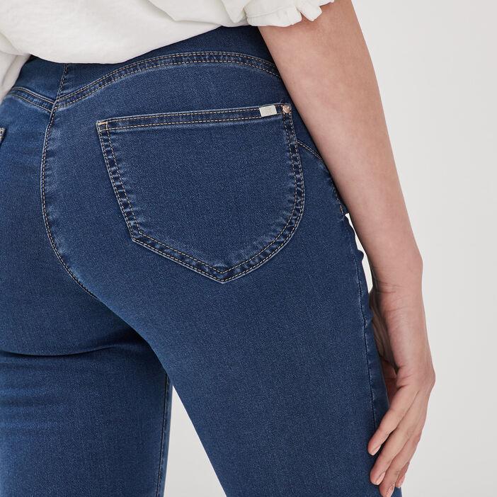 Pantalon léger toucher doux denim double stone femme