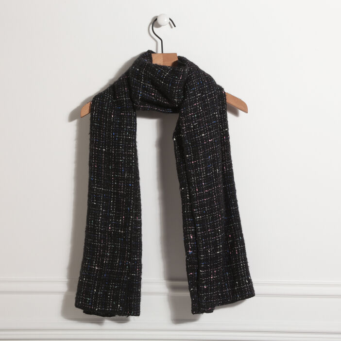 Écharpe noir femme