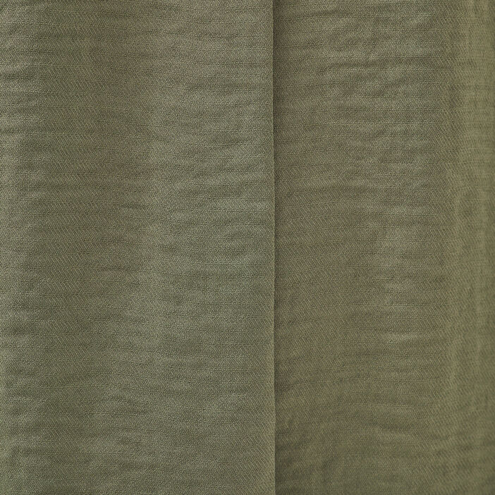 Blouse manches courtes vert kaki femme