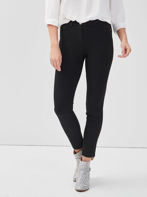 Pantalon Pesublime bi stretch noir femme