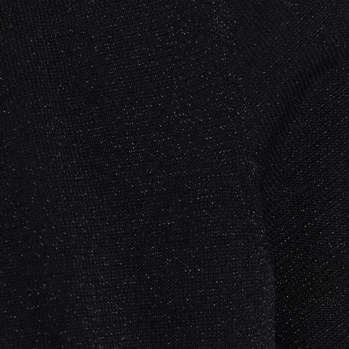 Gilet manches courtes noir femme