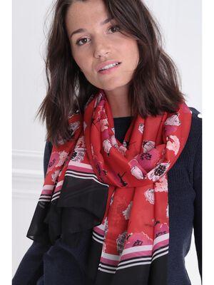 Foulard rouge femme