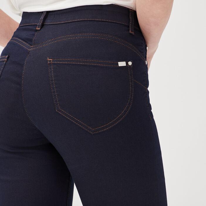 Pantalon léger toucher doux denim brut femme