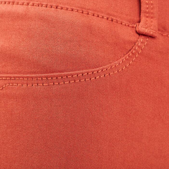 Tregging taille standard orange foncé femme