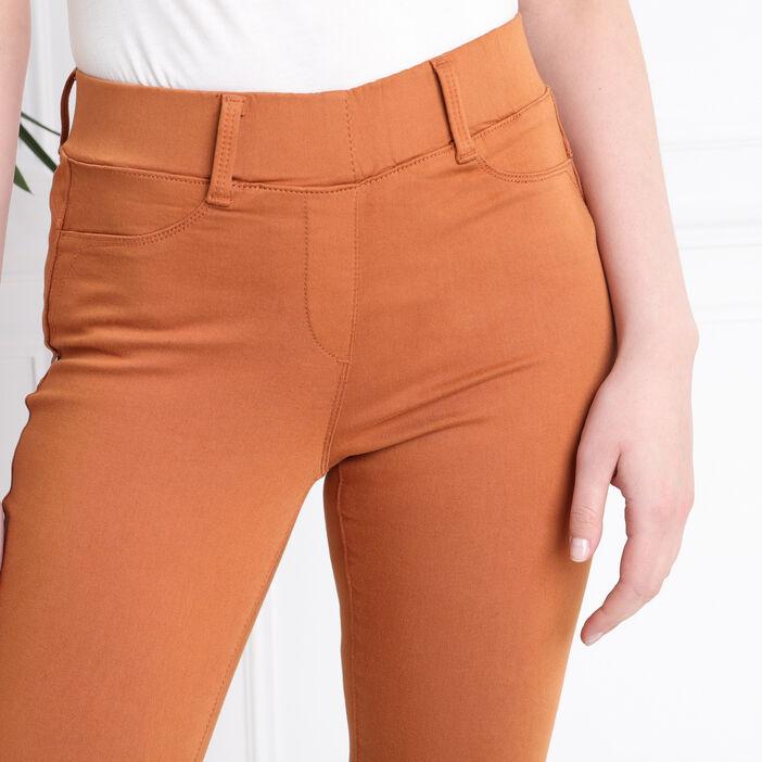 Tregging taille standard marron femme