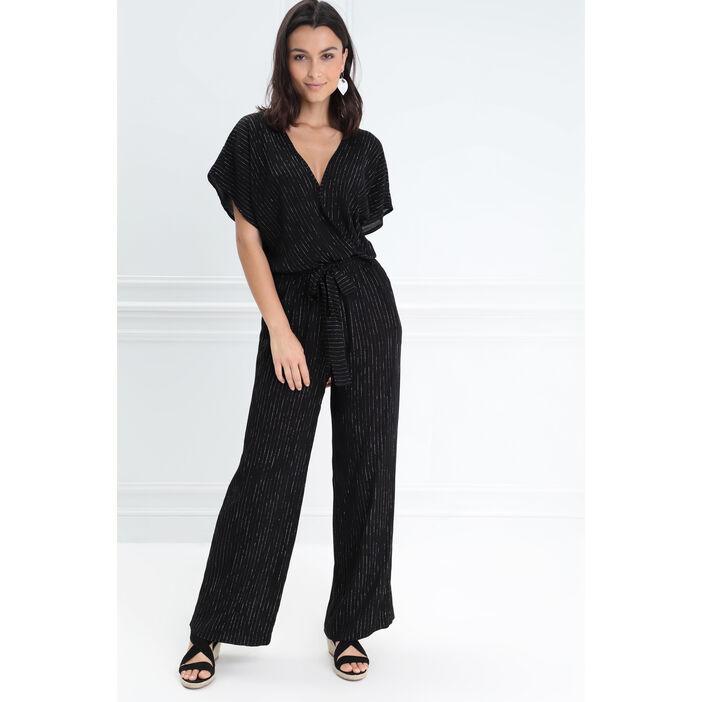 32a3f5bdcb0dfd Combinaison pantalon fluide noir femme | Bréal