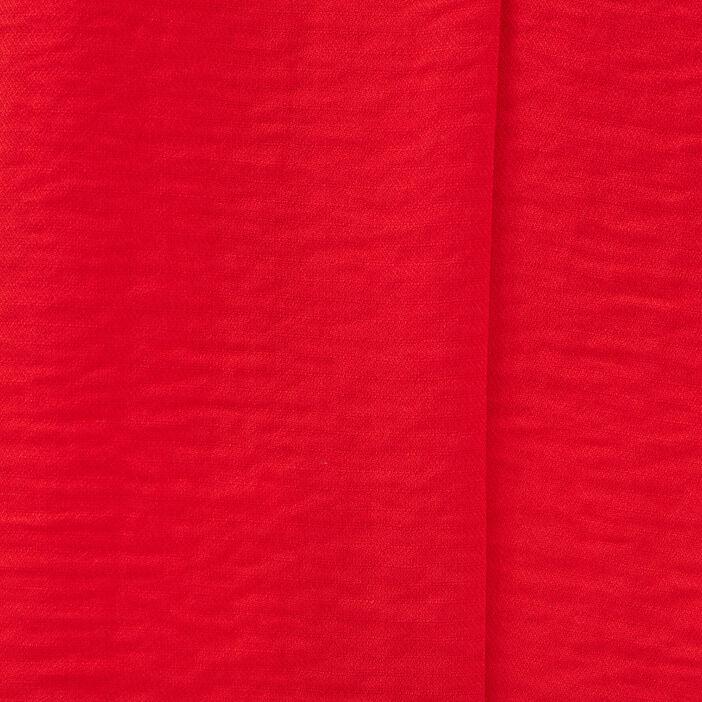 Blouse manches courtes rouge femme