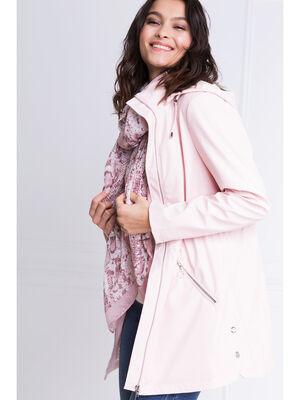 Etole imprime rose poudree femme