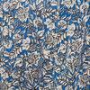 Blouse manches 34 bleu femme