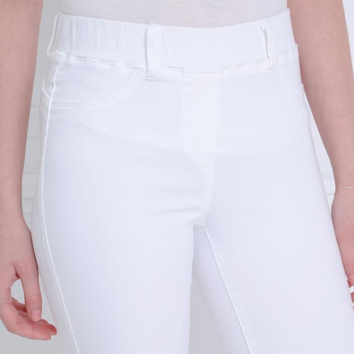 Tregging ultra confort blanc femme