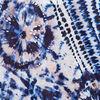 Debardeur col zippe bleu electrique femme